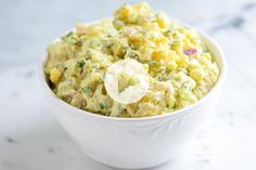 Easy potato salad recipe with lots of tips for making it best, including the best potatoes to use and how to cook them. With recipe video!