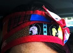 Patchwork Handband by TheCasualEclectic on Etsy