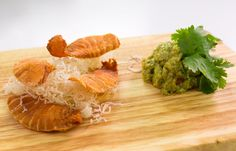 How to Make Salmon Chips And Asian Guacamole
