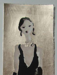 Catwalk Gold - detail 1 by Bridget Davies