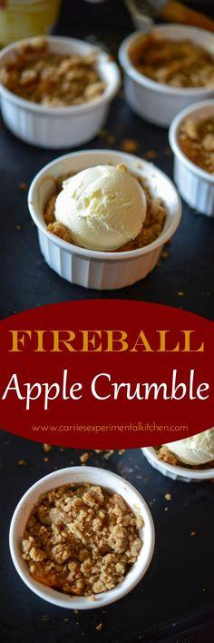 Fireball Apple Crumb