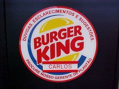 Burger King Gerente