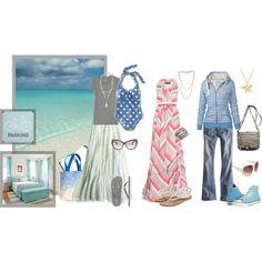 Weekend at the beach (Light Summer palette)., created by lightatheart