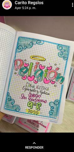 Cute Notes, Bullet Journal Spread, School Notes, School Hacks, Border Design, Diy Flowers, Cute Drawings, Diy And Crafts, Instagram Banner