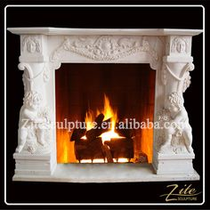 Source Hot Selling Indoor stone marble fireplace fronts on m.alibaba.com