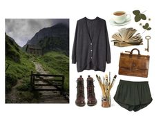 """A highland soul"" by mozart-and-coffee ❤ liked on Polyvore featuring Wood Wood, Frye, Berluti and vintage"