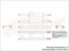 Standamaran SUP Plans Glassing Step 4b