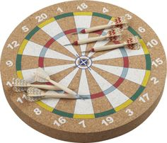 flechette dartboard and darts game  | CB2