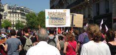 Manifestation des insoumis : L'antisémitisme a l'air libre à Paris! Air, Street View