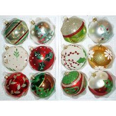 Bohemia glass Christmas decoration balls