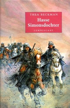 (B) Hasse Simonsdochter, Thea Beckman. I Love Books, Great Books, My Books, This Book, The Lunar Chronicles, Thrillers, Love Reading, Vintage Books, Book Series