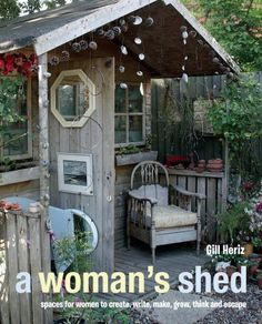 Now it's her turn to create a space for relaxing, working for getting creative - every woman can take inspiration from this collection of women's sheds