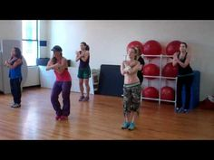 Zumba Dance It Wasn't Me by Shaggy Love the song and the choreography. Just subscribed to her on Google for her YouTube videos. I look forward to getting to know more of her work online.