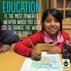 With Fair Trade, children can stay in school and work towards a bright future.