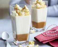 Salted caramel popcorn pots