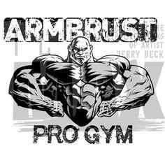 Fitness Illustrations about Arm Wrestling Gorilla Tattoo, Best Bodybuilder, Mma Gym, Gym Design, Logo Design, Gym Logo, Punisher Marvel, Fantasy Art Men, Shoulder Workout