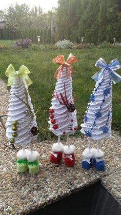 Vianočné stromčeky. Autorka: Dj111. Vianoce, papierové pletenie, paplet, vianočné dekorácie. Artmama.sk
