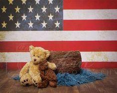 Digital newborn backdrops patriotic   Etsy