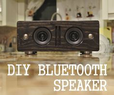 Hi,In this Instructable, I will go through the steps I took to make my own bluetooth speaker.I personally really like the design of AudioEngine B2, so I made my...