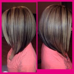 Long bob haircut 98767