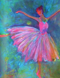 pictures of acrylic paintings of ballet dancers - Google Search: