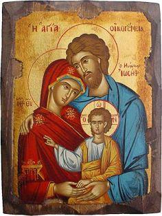Sagrada Família de Nazaré ícone