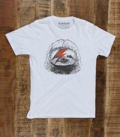 d76ae723 Glam Rock Sloth Men's Funny T-Shirt | Headline Shirts Glam Rock, Sloth,