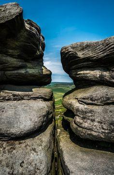 Millstone Edge, Peak District, England by StuKirk