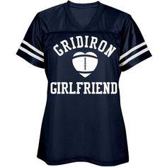 Trendy Football Girl