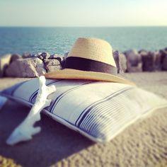 Striped cushions Striped Cushions, Wedding Designs, Wedding Blog, Panama Hat, Lifestyle Blog, Fashion, Moda, Fashion Styles, Fashion Illustrations