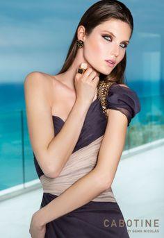 Vestido de la colección Cabotine 2014. Espero que os guste!  Visita nuestra web. www.entrenovias.es