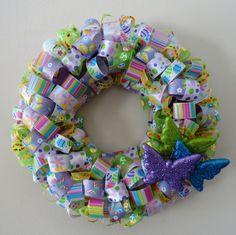 Easter Ribbon Wreath.