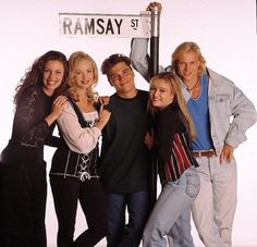 Gabby, Annalise, Mark, Lauren And Brad #Neighbours #OldSkoolNeighbours