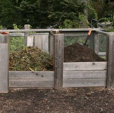 Composting turns kitchen and yard scraps into a marvelous soil amendment, and you don't have to do much to accomplish this stunning transformation. Follow the links to learn all about the benefits of composting, composting systems, building a compost bin, managing your compost, compost tea, and worm composting.