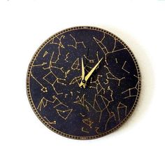 Hey, I found this really awesome Etsy listing at https://www.etsy.com/listing/155895153/wall-clock-constellation-clock-trending