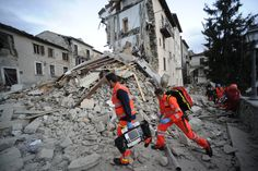 Aftermath of deadly earthquake in Italian town of Amatrice – in pictures