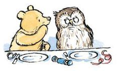Pooh asked Owl in a whisper what an Heirloom was, Owl said that it was a kind of kite.