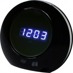 Covert Camera Fully Functional Modern Clock (Records both audio and 1280 x 960 color video) by TechKnowledge. $69.99. Monitor what is important to you while remaining discreet Whether youre looking for a nanny cam or to keep watch on your room while youre away this covert clock camera wont let you down. ?1 Clock ?1 Remote Control ?1 Charging Cable ?1 USB Cable ?1 Instruction Booklet