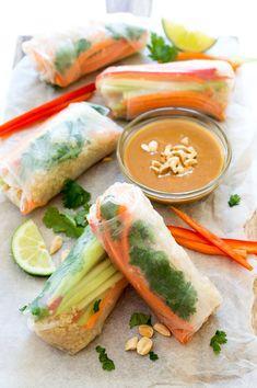 ... spring rolls shrimp quinoa vegetable spring rolls chefsavvy com