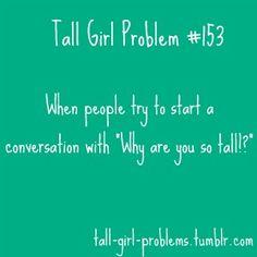 tall girl problem