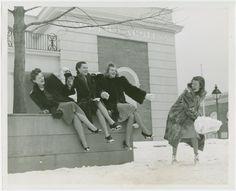 New York world's fair employee snowball fight 1939
