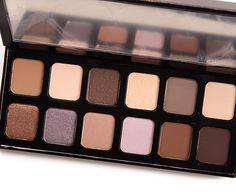 Laura Mercier Extreme Neutrals Eyeshadow Palette (2016): Dune, Wind, Rock, Dust, Earth, Bone, Choco Glace, Violet Sugar, Cocoa Rose, Candy Mauve, Hot Chocolate, Chocolate Espresso