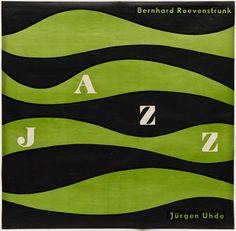 Jazz cover Otl Aicher (also known as Otto Aicher) c. 1950
