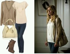 "So simple, yet looks great. Seriously love Emily Thorne's entire wardrobe on ""Revenge""!"
