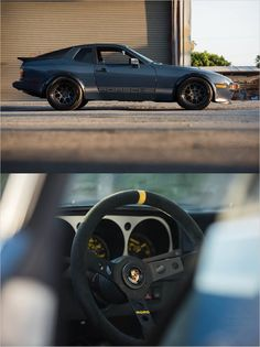 Nice early Porsche 944 with MOMO steering wheel and wheel arch extensions Porsche 944, Porsche Classic, Classic Cars, Cool Sports Cars, Super Sport Cars, Garage, Jaguar Xk, Old Cars, Custom Cars