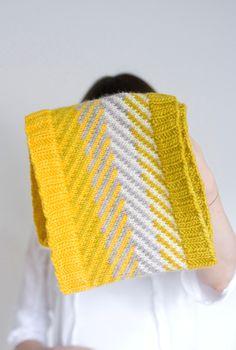 knit scarf pattern