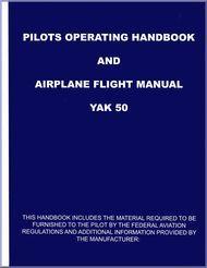 # Yakolvev Yak-50 Aircraft Pilots Operating Handbook and Airplane Flight  Manual   (English  Language )