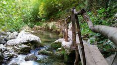 Черногория - это не только горы и море. Это еще и бурные реки с водопадами, лесные тропинки и захватывающие виды Garden Bridge, Outdoor Structures