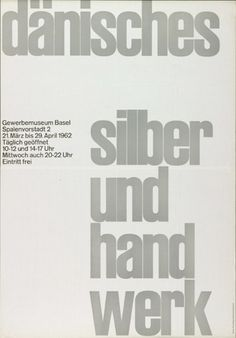 Emil Ruder Biography - Emil Ruder was a prominent twentieth century Swiss graphic designer and typographer. He was also associated with another eminent designer Armin Hofmann Style International, International Typographic Style, Typographic Poster, Typographic Design, Basel, Swiss Style, Teaching Methods, Design Graphique, Museum