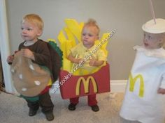 Yep, Happy Meals support Ronald McDonald House Charities. And these are such cute costumes!